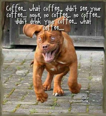 Koffie klunzen